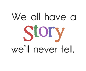 story, quote, and text image