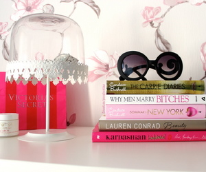 books, design, and girly image