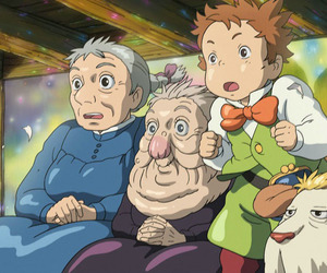 sophie, howls moving castle, and heen image