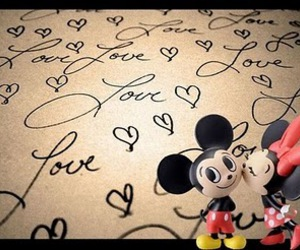 mickey, cute, and love image