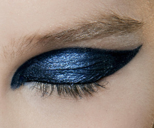 blue and make up image