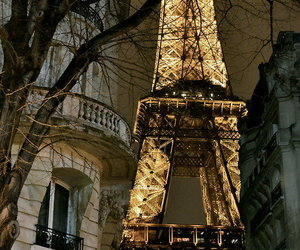 paris, france, and light image