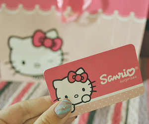 hello kitty, cute, and cat image