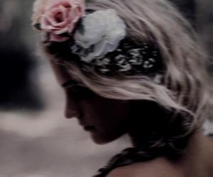 beautiful, girl, and calm image