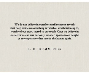 belief, ee cummings, and poetry image