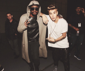 justin bieber, will.i.am, and sexy image