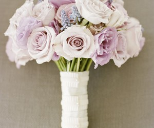widding, love, and flowers image