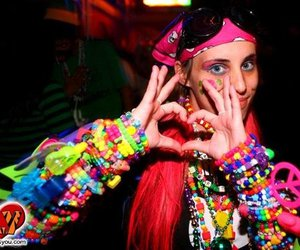 peace, PLUR, and rave image