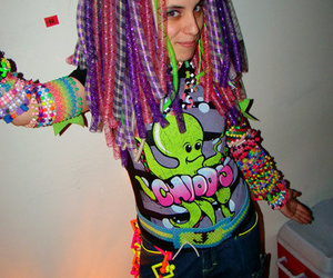 beads, PLUR, and rave image