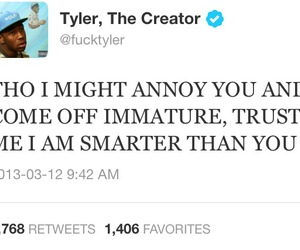 smart, twitter, and tyler the creator image