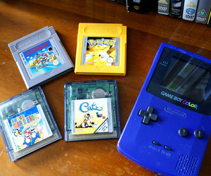 game boy, love, and nerd image
