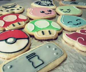 Cookies, pokemon, and naruto image