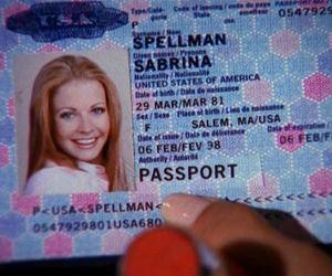 sabrina, passport, and sabrina spellman image
