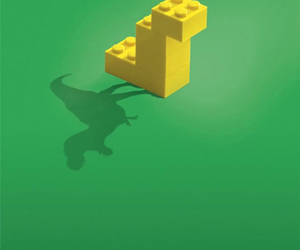 lego, dinosaur, and funny image