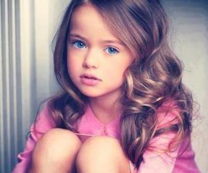 pink, blue eyes, and eyes image