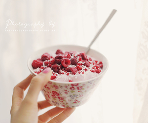 after, berries, and fitness image