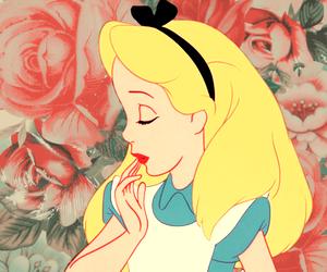 alice, alice in wonderland, and disney image
