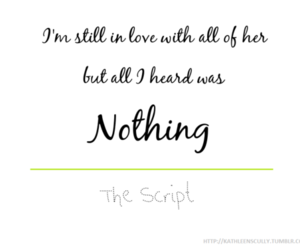 nothing, text, and the script image