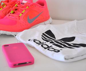 adidas, nike, and iphone image