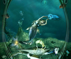 cancer, mermaid, and siren image