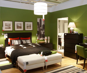 bedroom, green, and house image
