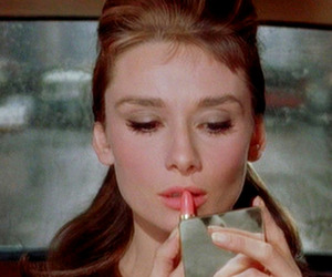 audrey hepburn, Breakfast at Tiffany's, and lipstick image