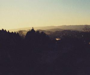dark, indie, and landscape image