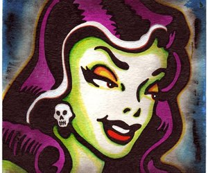 monster, psychobilly, and rockabilly image