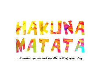 hakuna matata and phrases image