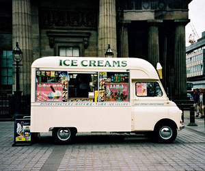 ice cream, vintage, and photography image