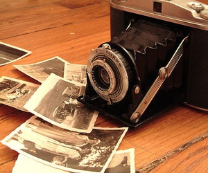 camera, vintage, and old image