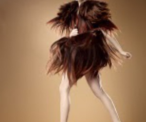ANTM, hair, and dress image