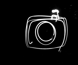 camera and Lightpainting image