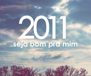new year and 2011 image