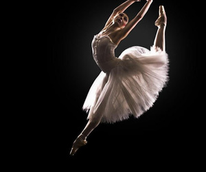 girl, ballerina, and beauty image