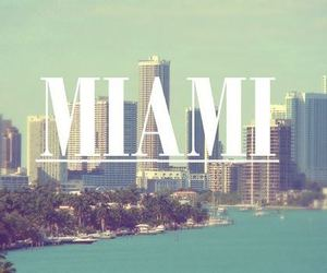 Miami, beach, and summer image