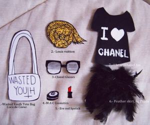 chanel, fashion, and glasses image