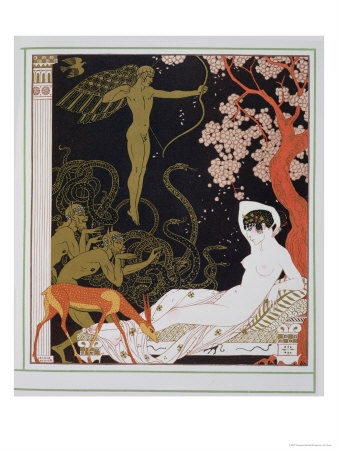 georges barbier and Nude image