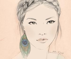 art, beautiful, and digital image