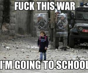 school, war, and awesome image