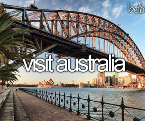 australia, travel, and before i die image