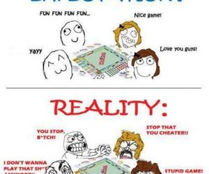 funny, game, and reality image