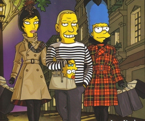 fashion, Jean Paul Gaultier, and the simpsons image