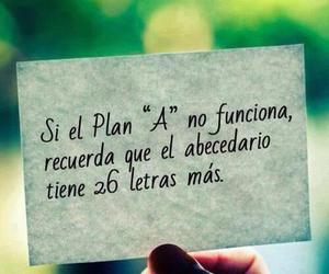 frases, ABC, and plan image