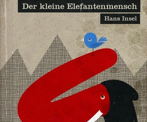 bird, book, and german image