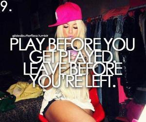 player, quote, and leave image