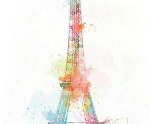 art, colors, and paris image