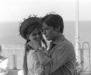 60s, Alain Delon, and claudia cardinale image
