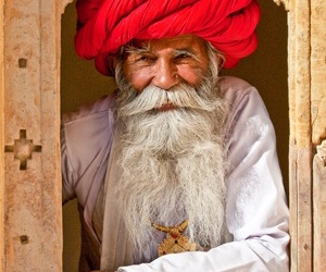 culture, india, and man image