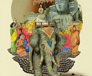 elephant and india image